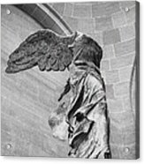 The Winged Victory Acrylic Print by Patricia Hofmeester