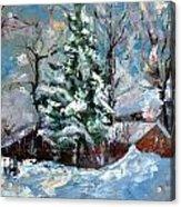 The Winter Acrylic Print