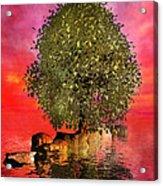 The Wishing Tree Two Of Two Acrylic Print