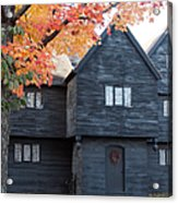 The Witch House Of Salem Acrylic Print