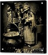 The Witch Acrylic Print