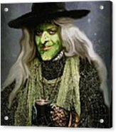 The Witch Of Endor As A Cavalier Acrylic Print