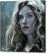 The Witch Acrylic Print by Steve Goad