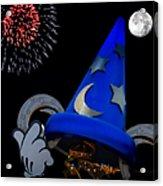 The Wizard Walt Disney World Acrylic Print