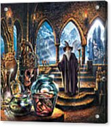 The Wizards Castle Acrylic Print