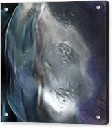The Woman In The Moon Acrylic Print