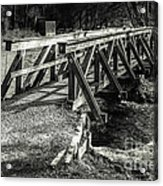 The Wooden Bridge Acrylic Print