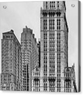The Woolworth Downtown Acrylic Print