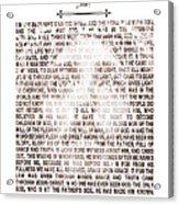 The Word Became Flesh Acrylic Print