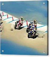 The World Super Bike Grid Acrylic Print