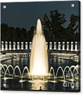 The World War II Memorial Acrylic Print