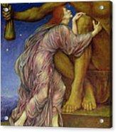 The Worship Of Mammon Acrylic Print