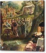 The Worship Of The Golden Calf Acrylic Print