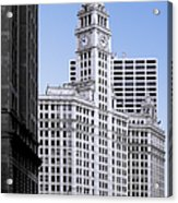 The Wrigley - A Building That Is Pure Chicago Acrylic Print
