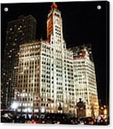 The Wrigley Building-chicago Acrylic Print