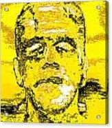 The Yellow Monster Acrylic Print