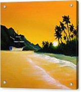 The Yellow Sea Acrylic Print