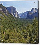 The Yosemite Valley Acrylic Print