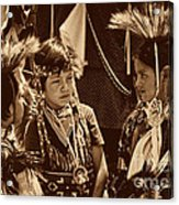 The Young Warriors - 2 Acrylic Print