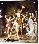 The Youth Of Bacchus Acrylic Print