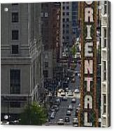 Theater District Acrylic Print
