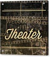 Theater Acrylic Print