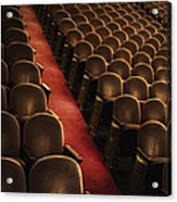 Theater Seats Acrylic Print