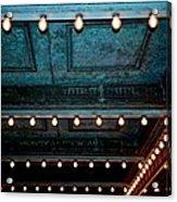 Theatre Lights Acrylic Print