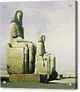 Thebes Acrylic Print by David Roberts