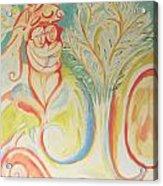 In A Garden Acrylic Print
