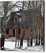 Thee Old Pink House Acrylic Print