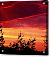 Thee Sunset Of Summer 2014 Acrylic Print