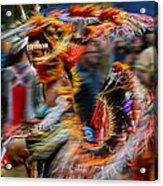 Their Spirit Is Among Us - Nanticoke Powwow Delaware Acrylic Print