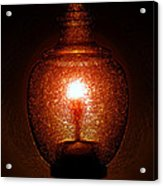 Amber Light Acrylic Print