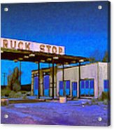 Then They Built The Interstate Acrylic Print
