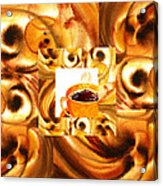 There Is A Coffee At The End Of The Tunnel  Acrylic Print