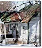 There Was A Crooked House Acrylic Print