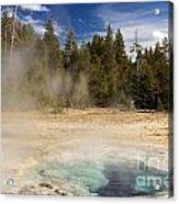 Thermal Landscape Acrylic Print