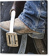 These Boots Are Made For Working Acrylic Print