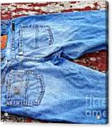 These Old Jeans Acrylic Print
