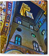 Viev From Courtyard Of Palazzo Vecchio Florence Acrylic Print