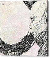 Thich Nhat Hanh Acrylic Print