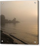 Thin Fog And Sunshine Acrylic Print