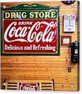 Things Go Better With Coke Acrylic Print