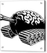 Think Tank Acrylic Print by M o R x N