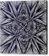 Thinkin Green Acrylic Print