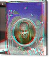 Thinking Inside The Box - Red/cyan Filtered 3d Glasses Required Acrylic Print