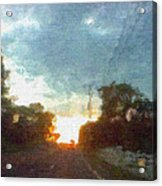 Third Sunset Acrylic Print
