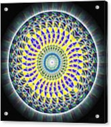 Thirteen Stage Alchemy Kaleidoscope Acrylic Print by Derek Gedney