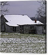 This Cold House Acrylic Print